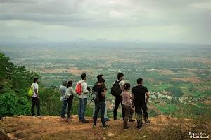 View from Makalidurga top