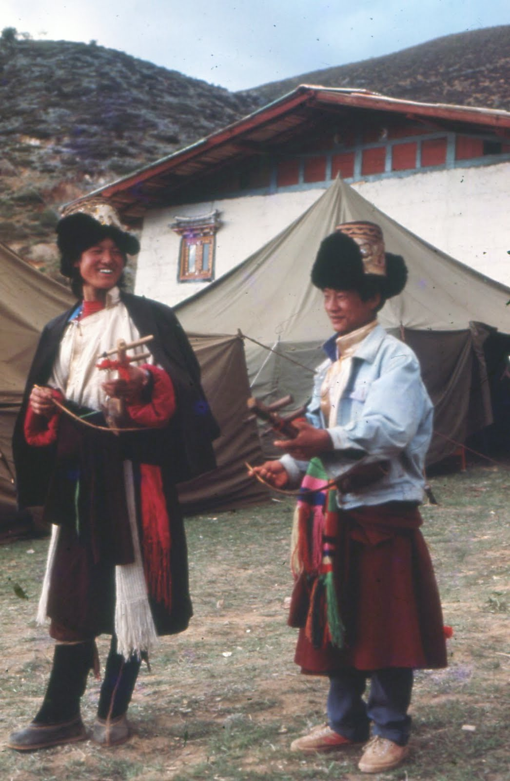 Tibetan Fiddlers