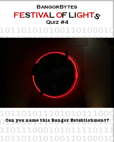 Festival of Lights Quiz #4,Queen City Quiz,Bangor_Maine,establishment