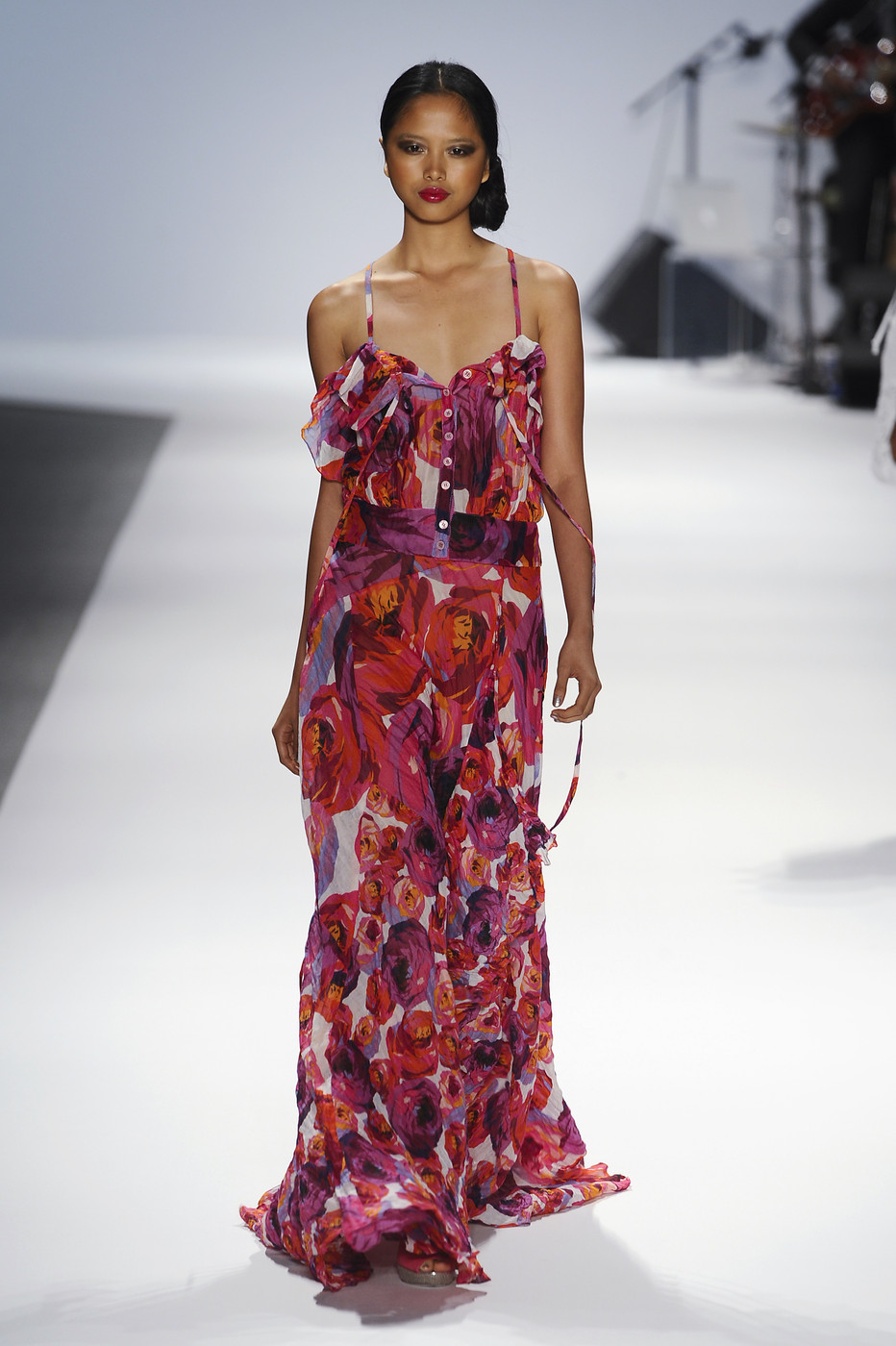 via fashioned by love | Nanette Lepore Spring/Summer 2011 | floral trend