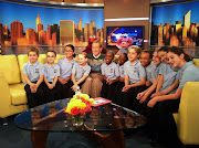 YPC Choristers with Sesame Street's Bob McGrath