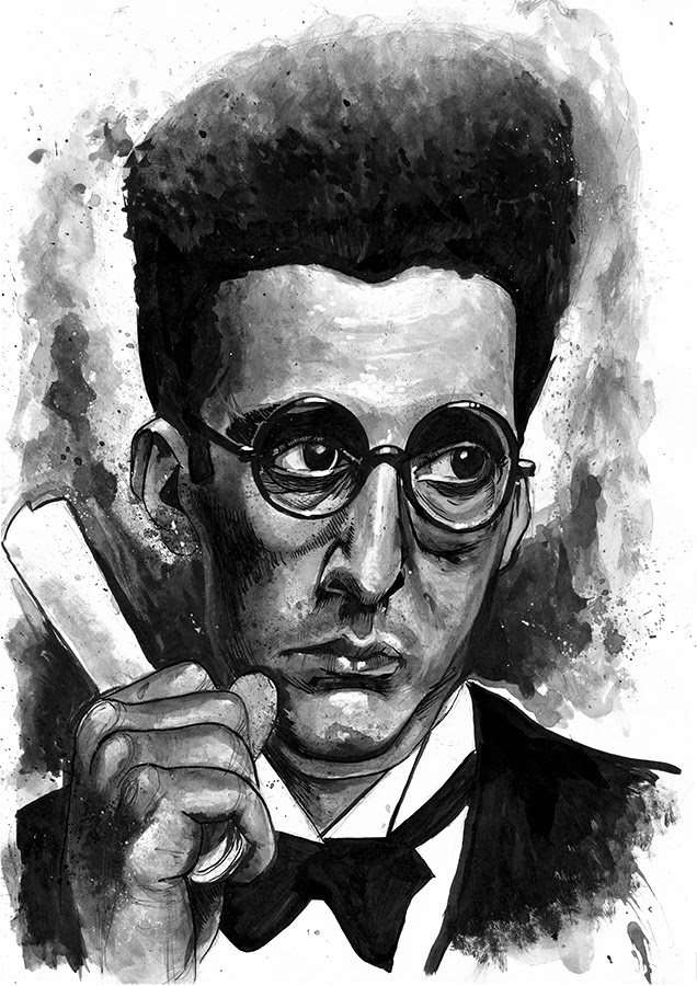 John Turturro Barton Fink Illustration
