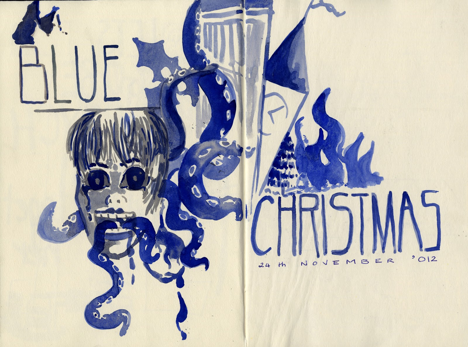 ill have a blue christmas without you ill be so blue just thinking about you decorations of red on a green christmas tree wont be the same dear - I Ll Have A Blue Christmas