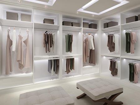 Walk in closet make up station on pinterest b b for Dressing room lighting ideas