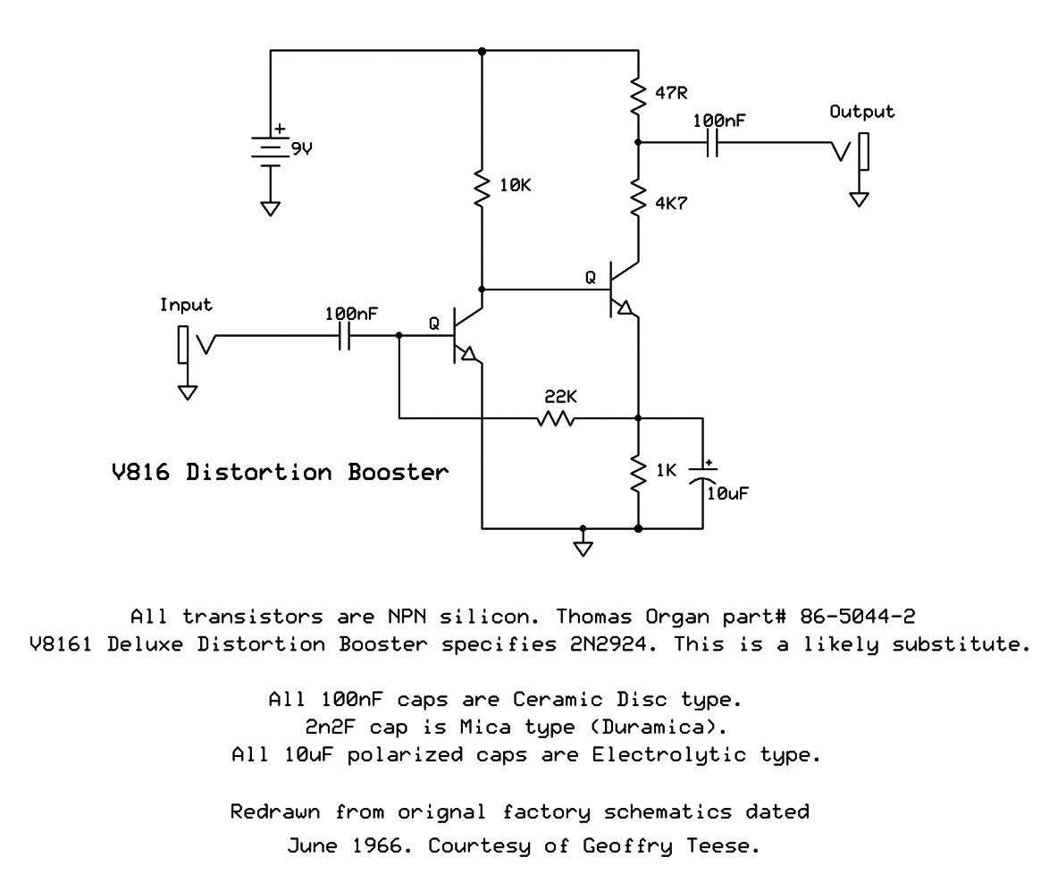 One Knob Fuzzes Colorsound Clones The Gear Page Jimi Hendrix Fuzz Face Pedal Circuit Diagram Theres Also These Two