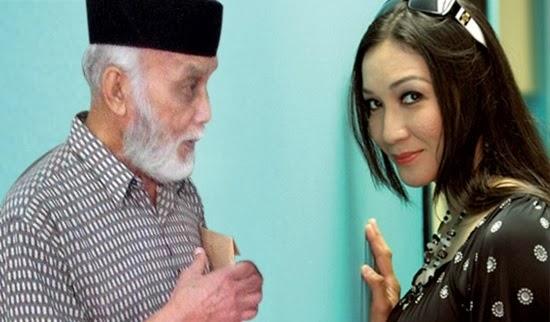 Gambar Wan Nor Azlin dan Bapanya Dalam Kes Saman