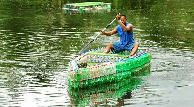 Some People Just Throw Plastic Bottles Away, While Others Make THIS