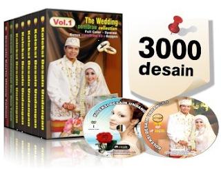 Jual DVD kumpulan desain undangan