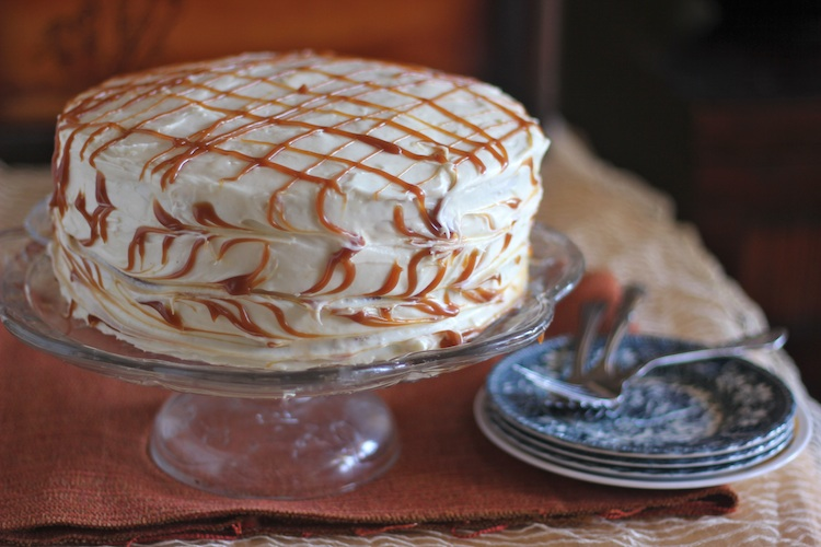 ... From My Kitchen: Pumpkin Spice Layer Cake with Cream Cheese Frosting