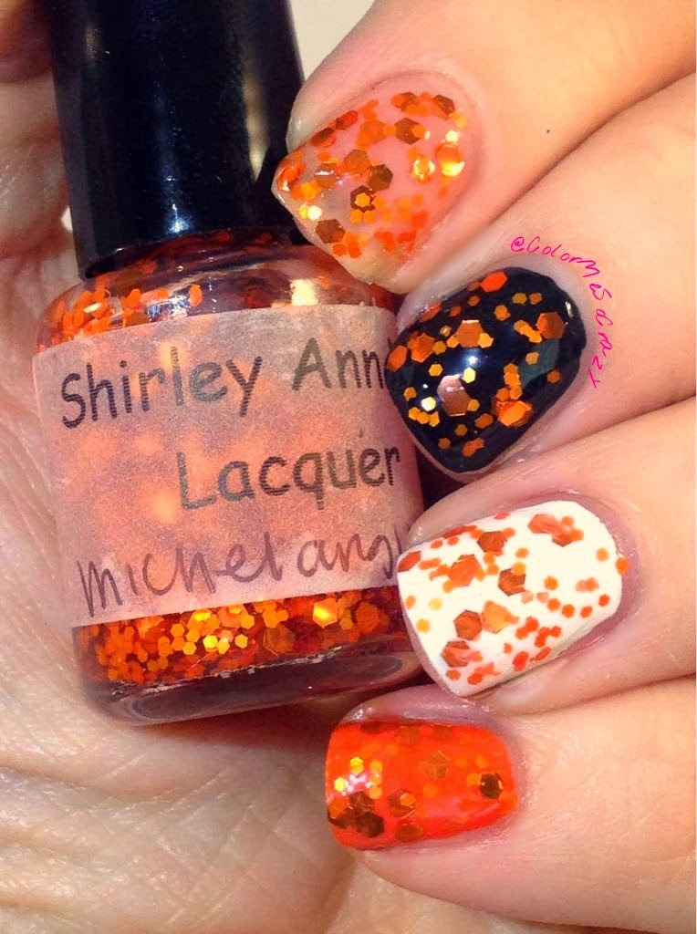 Shirley Ann Nail Lacquer Teenage Mutant Ninja Turtles Collection Michelangelo