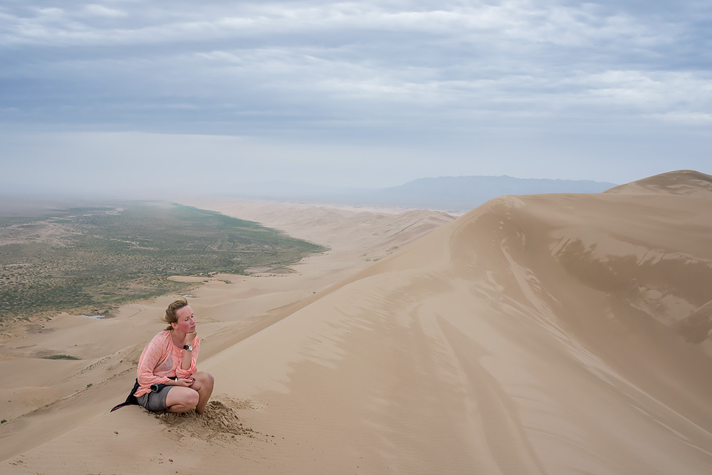 Khongoryn Els - Singing Sands - Śpiewające Wydmy