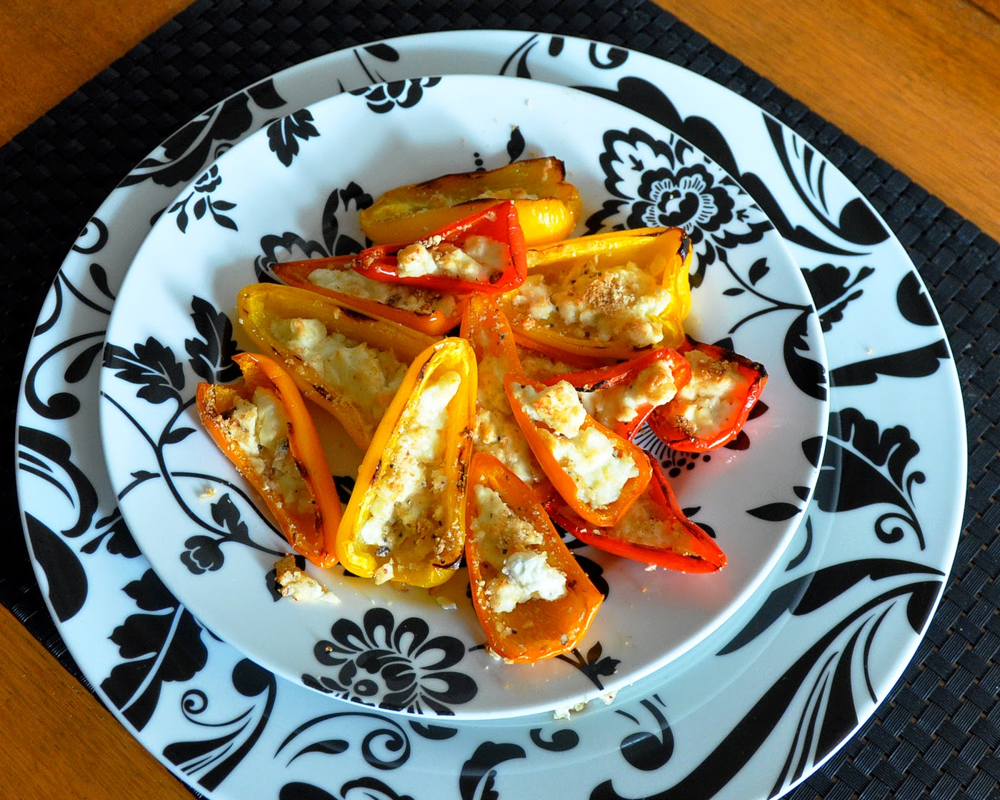 recipe mini bell pepper boats