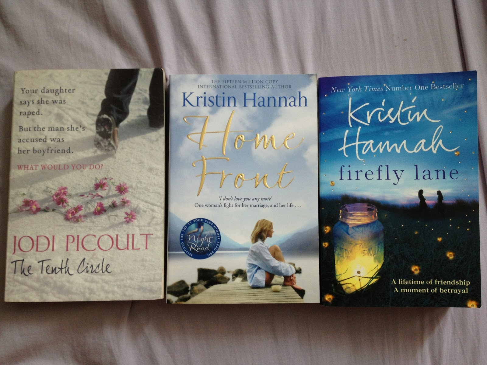 "a reflection of my reading of firefly lane a book by kristin hannah Kristin hannah: by the book as my reading tastes are today the oz books  have to be ""firefly lane"" it's full of my own life stories and."
