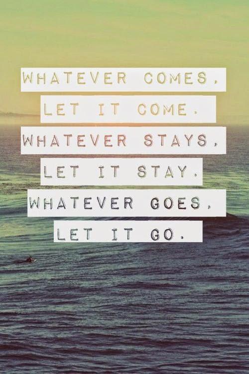 yoga: let it go