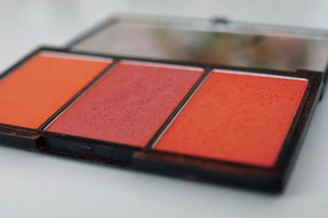 Sleek blush palette