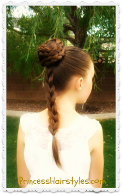 Princess Leia Ceremony Hairstyle Tutorial