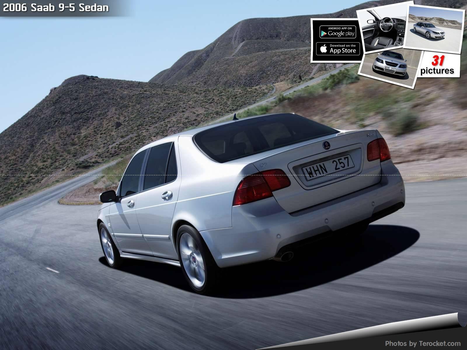 Hình ảnh xe ô tô Saab 9-5 Sedan 2006 & nội ngoại thất