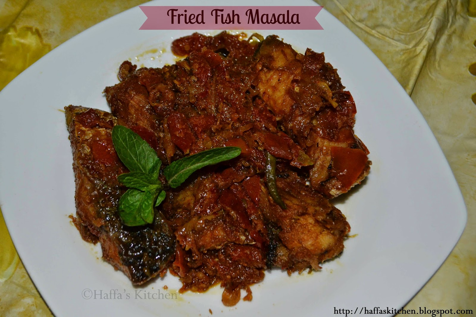 Masala fish recipe, Fish meals, fish dishes, fish dinners
