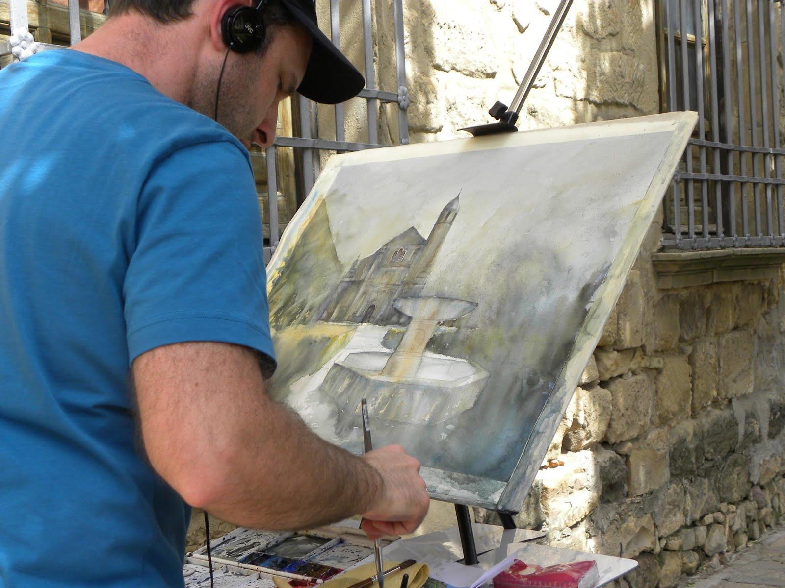 Concurso pintura rápida Ciudad de Úbeda. Jaén.