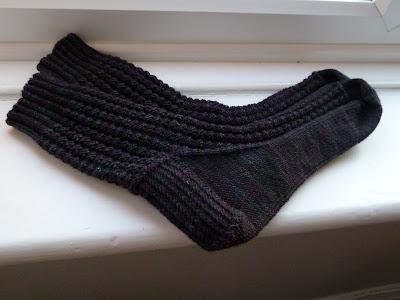 Waffle stitch socks Rooky Socks that Rock