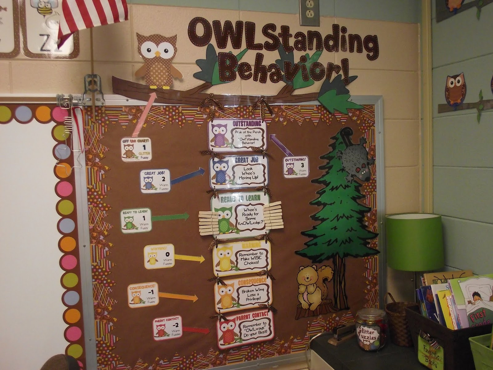 Classroom Owl Ideas : First grade o w l s august