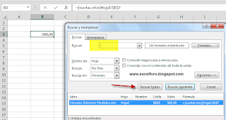 Encontrando vínculos externos en nuestro Libro de Excel.