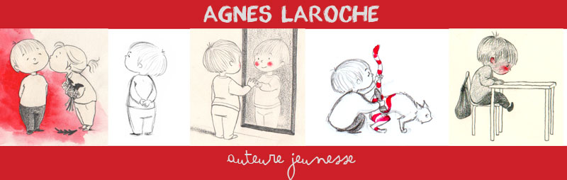 Agns Laroche, auteur jeunesse.