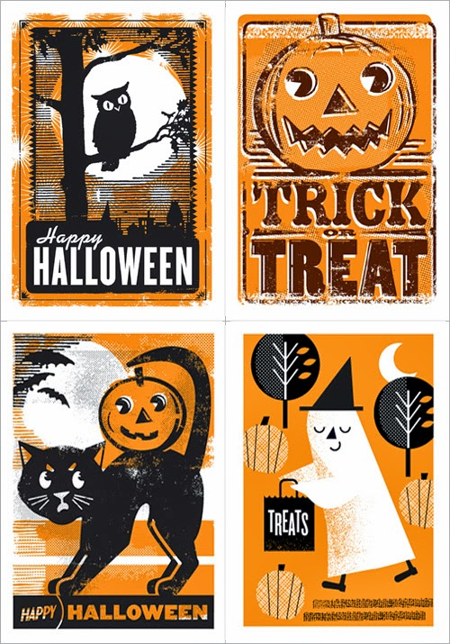 Car These Spooky Cute Halloween Cards Are By L2 Design Collective A