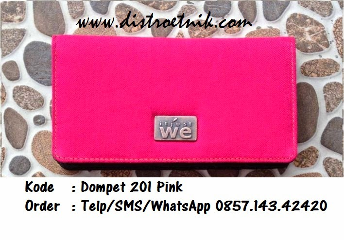 dompet jeans it just we wt 201 pink