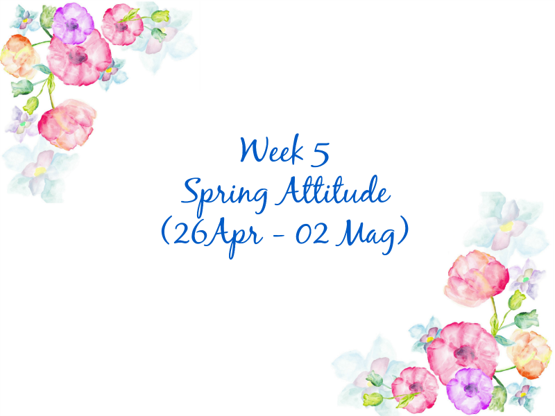 The Spring Sparkling Challenge: Spring Attitude
