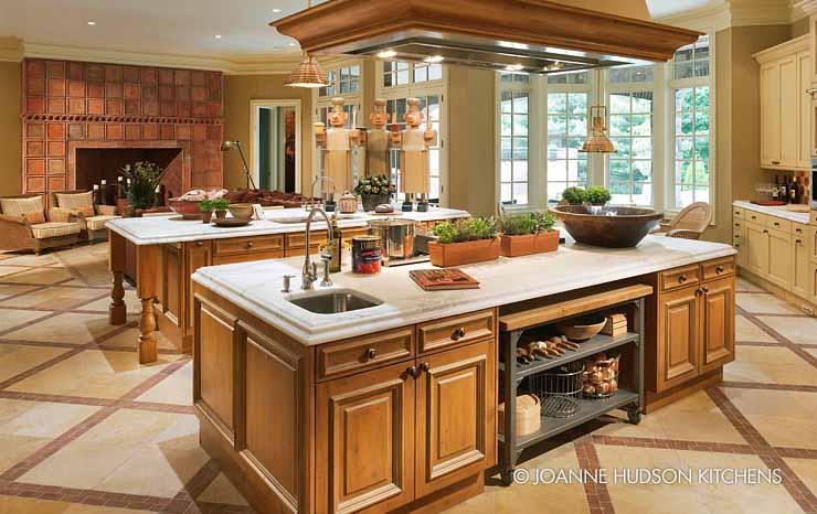 Koleksi Desain Dapur Modern Klasik Elegan Dari Joanne Hudson