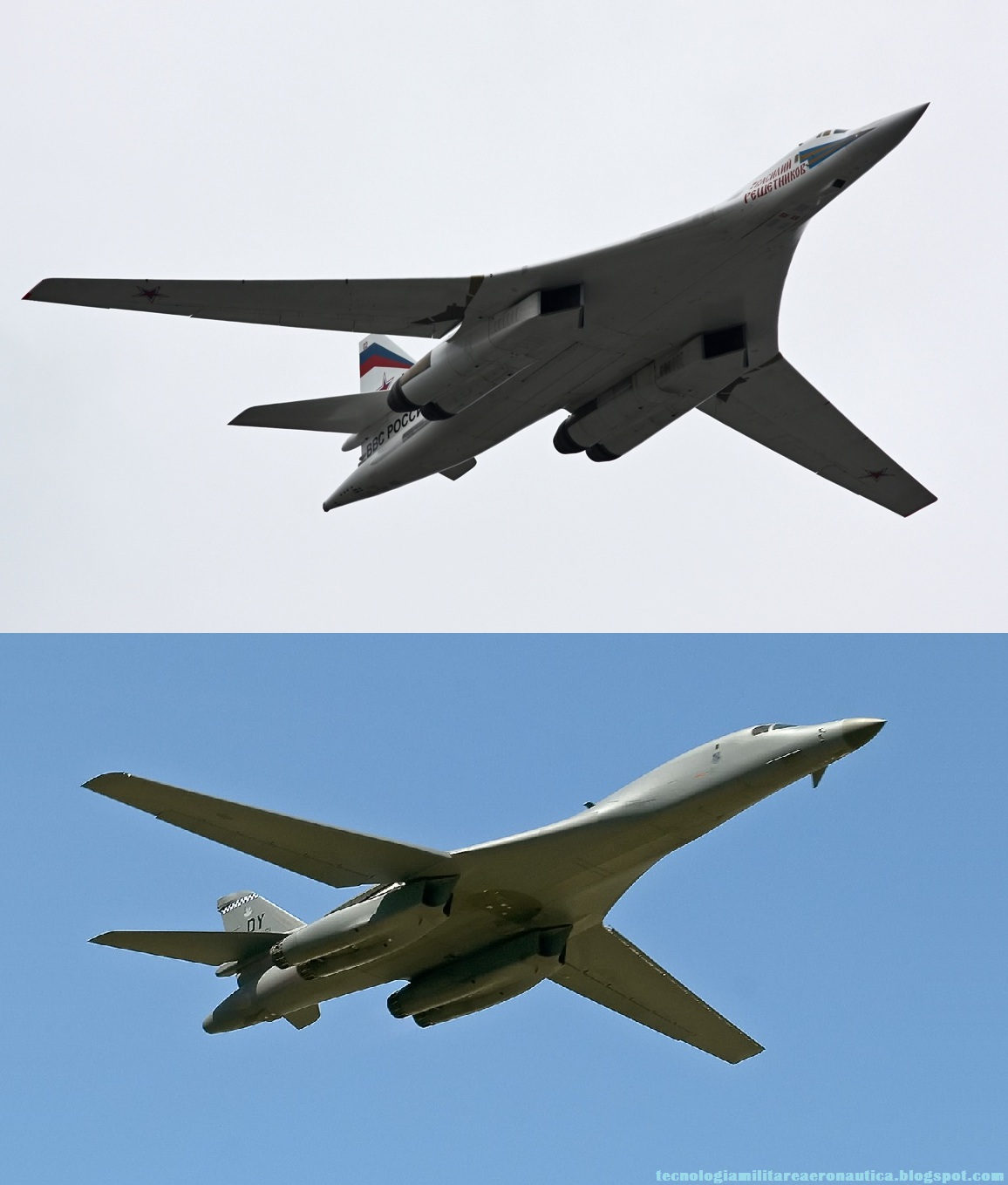 TU-160 Blackjack being refueled from an IL-78 Midas ... B1 Lancer Vs Tu 160