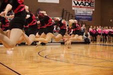 Jazz Routine at Competition