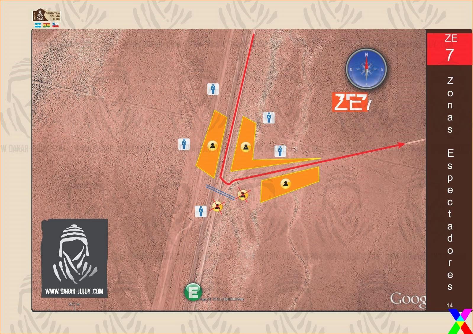 Zona de Espectadores 7 Jujuy - Dakar 2014