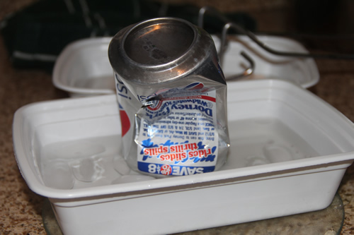 Home school and things soda can crusher