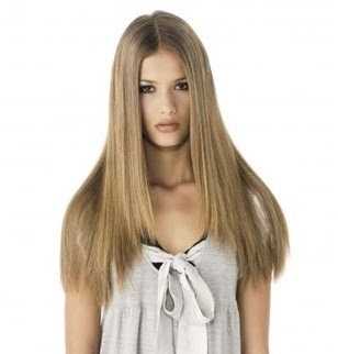 coupe cheveux long lisse degrade
