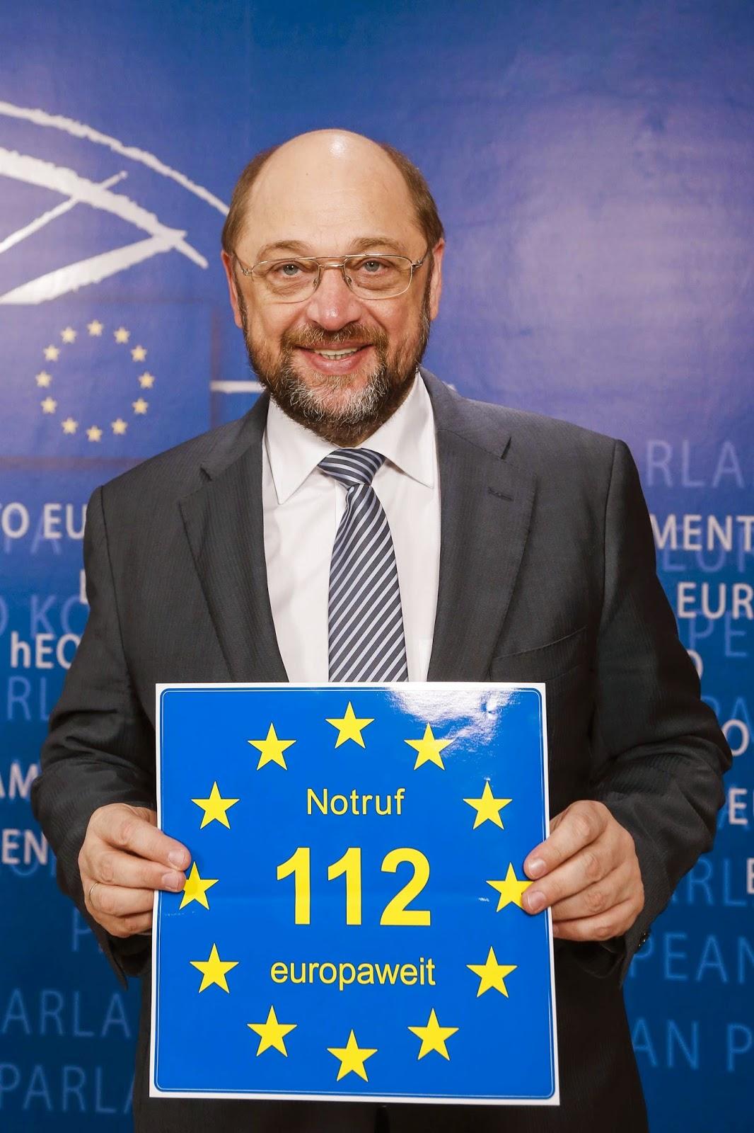 Euronotruf 112 Martin Schulz