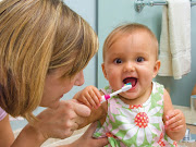 Healthy teeth are important—even baby teeth. Children need healthy teeth to . babytoothbrushing