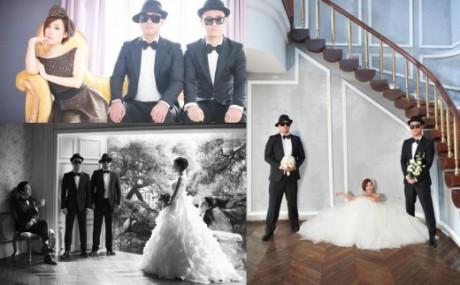 Leessang Edit Foto Pernikahan HaHa Dan Byul