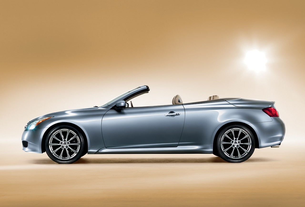Metallic Color Infiniti G Convertible Car Wallpaper