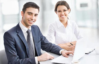 socios en el negocio