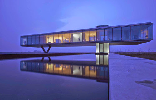 Luxury Villa Kogelhof by Paul de Ruiter Architects