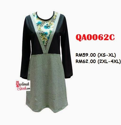 T-Shirt-Muslimah-Qaseh-QA0062C