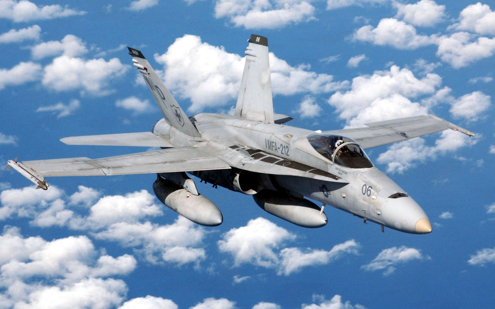 wallpapers  McDonnell Douglas FA 18 Hornet Aircraft Wallpapers