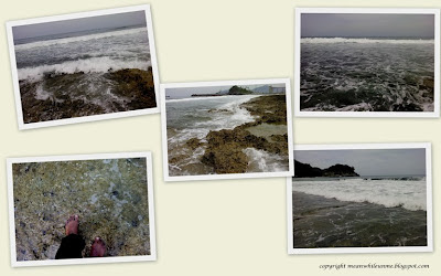 Pantai dengan Karang Tajam