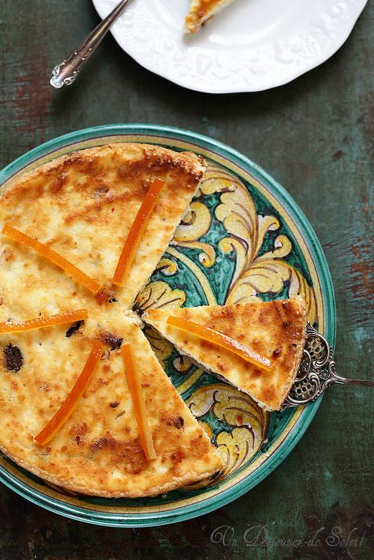 Gâteau sicilien à la ricotta (sans gluten)
