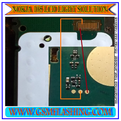 ... solution and nokia 105 display light ways nokia 105 and same outher