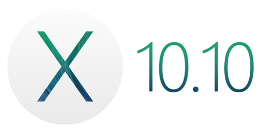 Mac OS X 10.10 Logo