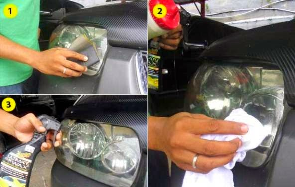 Tips How to Care Car Head Lamp