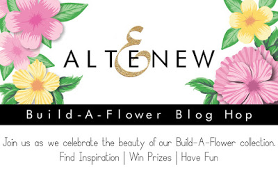 Altenew Build-A-Flower Blog Hop + Giveaway до 04/03